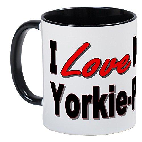 CafePress - I Love My Yorkie-Poo Mug - Unique Coffee Mug, Coffee Cup