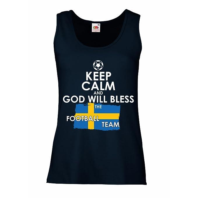 lepni.me Camisetas sin Mangas para Mujer Copa Mundial 2018 Rusia, La Evolución del