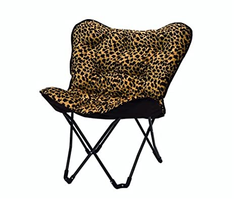 Captivating Tufted Butterfly Chair