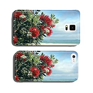 Pohutukawa trees red fowers sandy beach cell phone cover case iPhone6 Plus