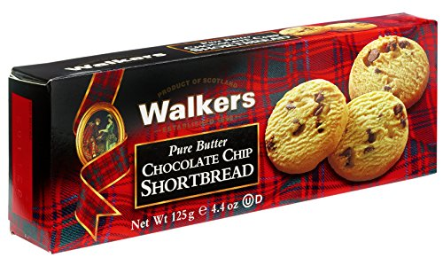 Walkers Shortbread Chocolate Chip, 4.4-Ounce (Pack of 4) Chocolate Chip Bread