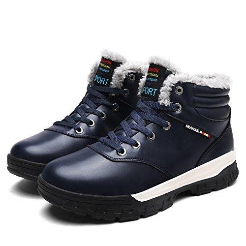 Libre Invierno Fur Aire Boots Plano Al Azul Botas Calentar De Eagsouni®  Botines Hombre Zapatos Otoño Nieve Deportes 16xtw1qSp 3044dcd73058d