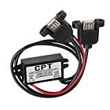 Hendont 12V To 5V 3A 15W Duble USB Output Car Power