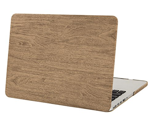 Mosiso Texture Leather MacBook Display