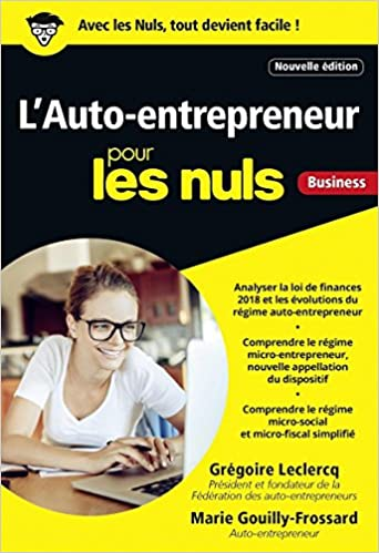 Amazonfr Lauto Entrepreneur Pour Les Nuls Poche 4e édition