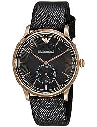 Emporio Armani Men's Classic AR1799 Brown Leather Quartz Watch