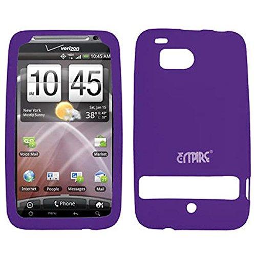 EMPIRE Purple Silicone Skin Cover Case Tasche Hülle for Verizon HTC ThunderBolt