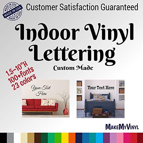 custom text vinyl decal - 5