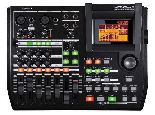 Fostex MR8 mkII 8 Track Multitrack Recorder FOS MR8MKII