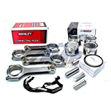 Wiseco Pistons Manley H Tuff Rods 8.35:1 92.5mm for 02-05 Subaru WRX EJ20 EJ205