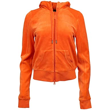 f26969414dd6 PUMA Womens Fenty by Rihanna Velour Fitted Zip up Track Jacket Casual  Outerwear Orange