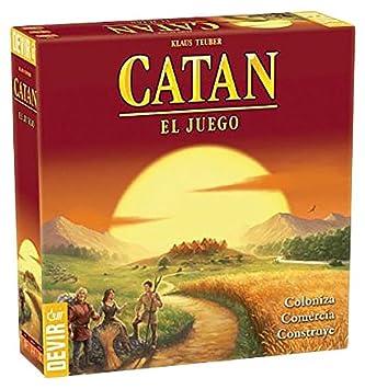 Devir Catan Juego De Mesa Bgcatan Idioma Castellano Amazon