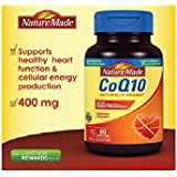 Nature Made CoQ10 Coenzyme Q10 400 mg - 60 Softgels