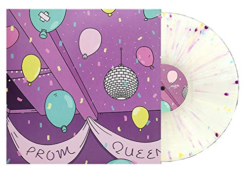 Price comparison product image Prom Queen & Cry Baby - Exclusive Limited Edition Clear With Purple / Teal / Yellow Splatter Vinyl LP