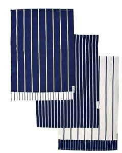 Sabichi - Set de 3 trapos de cocina (3 piezas, algodón)