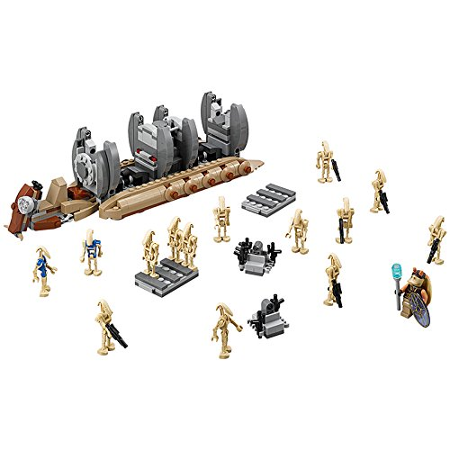[565pcs Battle Droid Troop Carrier Building Blocks Toys Gifts Minifigures diy toys] (Diy Star Wars Dog Costumes)