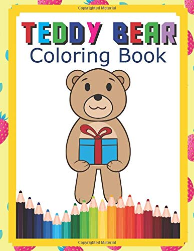 Printable Teddy Bear Coloring Pages For Kids | 500x387