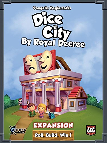 Alderac Entertainment ALD05881 - Kartenspiel Dice City: by Royal Decree
