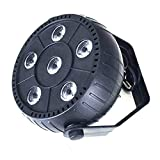 Maryger Up Lighting Full RGB Color Mixing 6LEDs Stage Lighting(1 Piece)