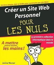 Créer son site Web personnel