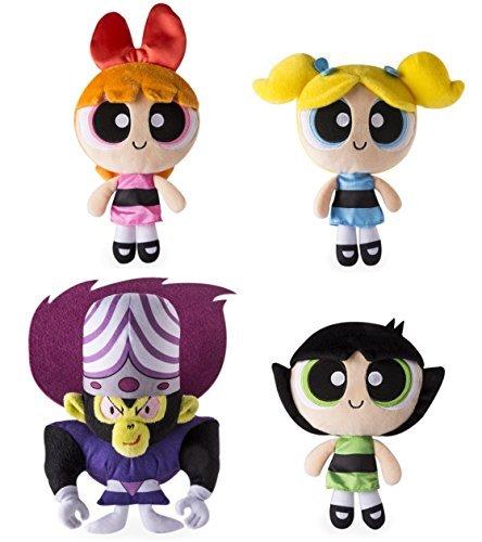 (Spin Master Set of 4 Stuffed Plush Dolls 8