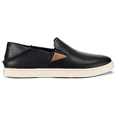 OLUKAI Women's Pehuea Leather Slip On   Loafers & Slip-Ons