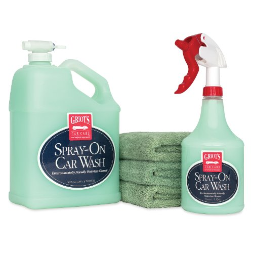 Griot's Garage 11357Z Complete Spray-On Car Wash Kit