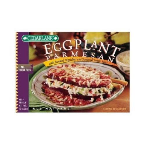 Cedarlane Eggplant Parmesan, 10-Ounce Packages (Pack of 12) ()