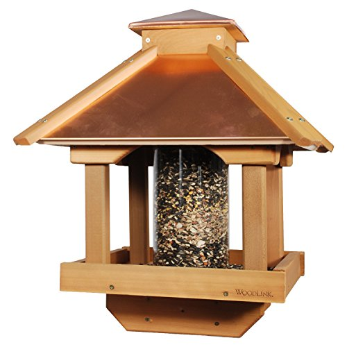 Woodlink COPGAZEBO Coppertop Wood Gazebo Bird Feeder (Gazebo Feeder)