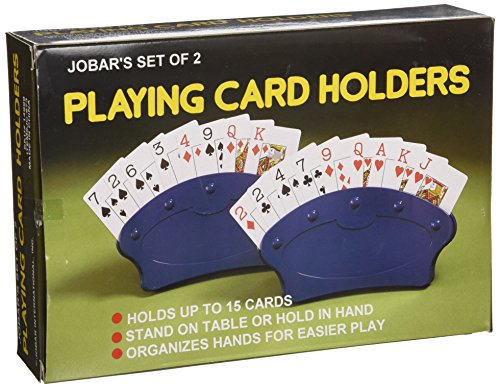 Playing Card Holders, Set of 2