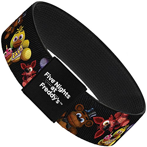 FIVE NIGHTS AT FREDDY'S Elastic Bracelet - Five Nights at Freddys 4-Plushies -  Buckle Down, EB-1.0-WFNF003
