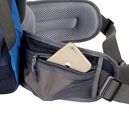 Mountaintop Sacs à dos de randonnée sac au dos Pour camping,voyage,Sac étanche avec alpinisme sac