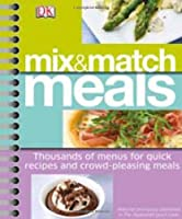Mix & Match Meals Front Cover