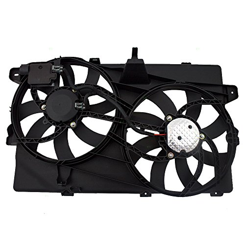 Radiator And Condenser Fan For Ford Lincoln Fits Edge MKX FO3115175