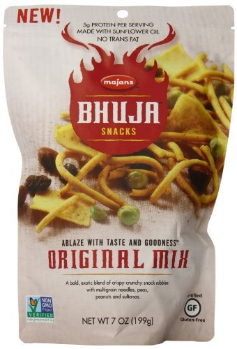 Bhuja Original Mix - BHUJA Original mix, 7-Ounce Bags (Pack of 6) by BHUJA