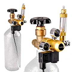 The aquarium CO2 regulator from DoubleSun is a helpfull assistant to create a water forest.It is compatible with most of high density tubing to inject your aquarium with CO2 quickly and easily. It also works well with most CO2 atomizers and d...