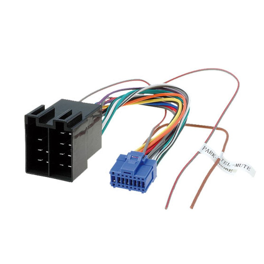 Pioneer Avh 16 Pin To Iso Lead Wiring Loom Power Adaptor How Wire 8200 Radio Connector Cell Phones Accessories