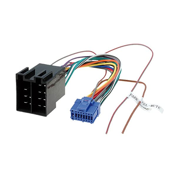 Amazon.com: Pioneer AVH 16 Pin to ISO Lead Wiring Loom Power Adaptor ...