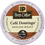 : Peet's Coffee K Cup Cafe Domingo Medium Roast, 10 Count (Pack of 6)