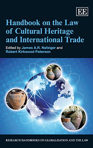 Cultural Handbook (Handbook on the Law of Cultural Heritage and International Trade (Research Handbooks on Globalisation and the Law series))