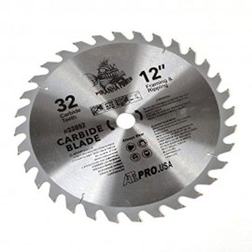 "3 New Carbide Tip Saw Blade 12"" x 32 Tooth"