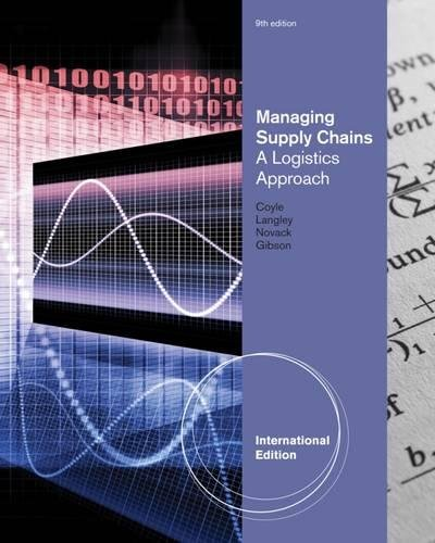 Managing Supply Chains: A Logistics Approach.