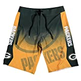 Green Bay Packers Gradient Board Short Large 34