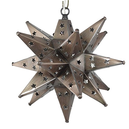 Moravian Star Light Pierced Bronze product image