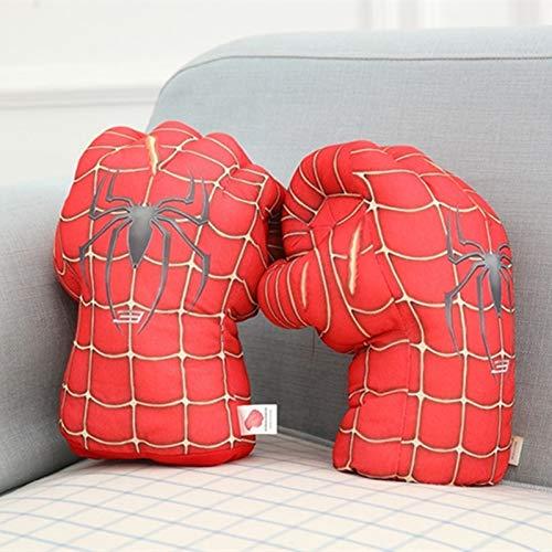 Grocoto Boys Costume Accessories - Plush The Incredible Hulk Spider-Man Cosplay Gloves Superhero Hulk Spiderman Children Halloween Christmas Kids Costume Toys 1 PCs ()