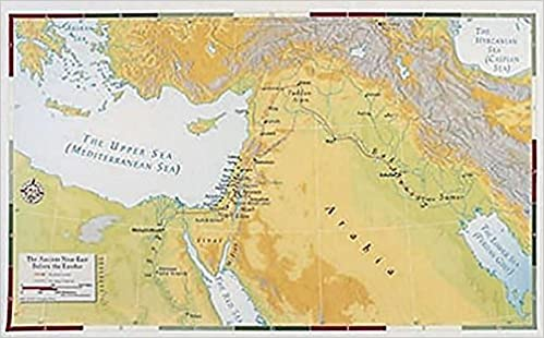 Download Abingdon Bible Land Map--Ancient Near East Before the Exodus PDF, azw (Kindle)