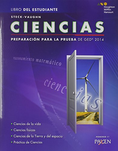 Steck-Vaughn GED: Test Prep 2014 GED Science Spanish Student Edition 2014 (Spanish Edition)