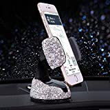 Universal Bling Car Phone Mount Stand Holder 360