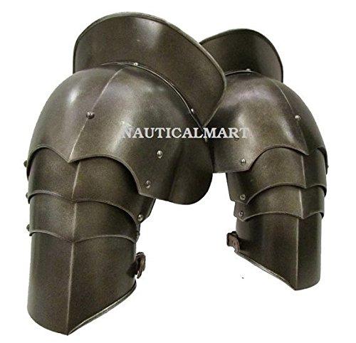 Medieval Larp Armour Pauldrons, Spaulders, Spalders Guard