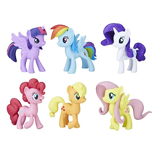 (My Little Pony Meet The Mane Ponies Collection Doll Playset )
